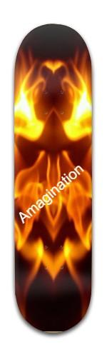 Amagination one Banger Park Skateboard 8 x 31 3/4