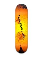 Hawaiian Love Banger Park Skateboard 8 x 31 3/4