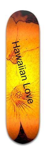 Hawaiian Love Banger Park Skateboard 8 x 31 3/4