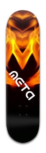 Meta Banger Park Skateboard 8 x 31 3/4