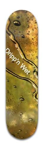 Dripp'n Wet Banger Park Skateboard 8 x 31 3/4