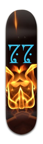 Lurker 7 Banger Park Skateboard 8 x 31 3/4