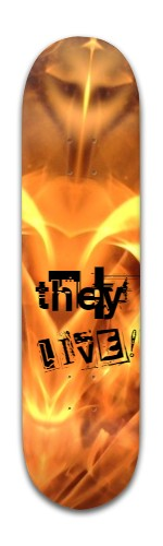 They live! Banger Park Skateboard 8 x 31 3/4