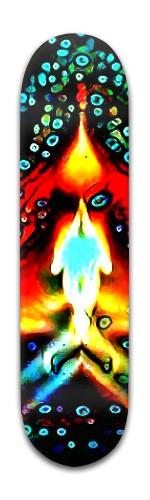 """The Torch"" Banger Park Skateboard 8 x 31 3/4"
