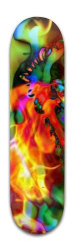 """Cymbic Ray'n"" Banger Park Skateboard 8 x 31 3/4"
