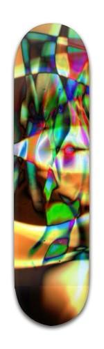"""""""Broken Yoni"""" Banger Park Skateboard 8 x 31 3/4"""