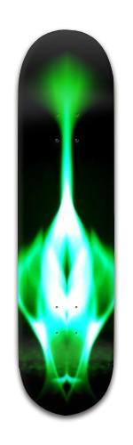 """""""Emerald Rooster"""" Banger Park Skateboard 8 x 31 3/4"""