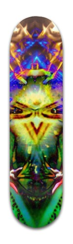 """""""Kosmic Eye's"""" Banger Park Skateboard 8 x 31 3/4"""