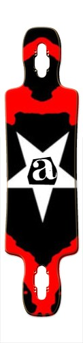 """""""Ransom A"""" Gnarlier 38 Skateboard Deck v2"""
