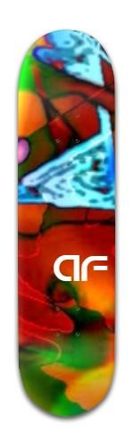 """""""AF Ice"""" Banger Park Skateboard 8 x 31 3/4"""