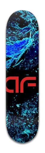 """""""AF Space"""" Banger Park Skateboard 8 x 31 3/4"""