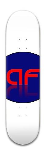 """""""AF Fuel"""" Banger Park Skateboard 8 x 31 3/4"""