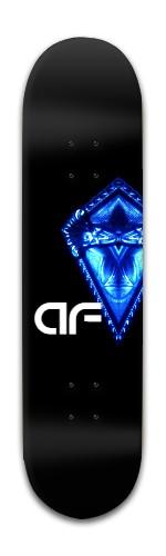 """""""AF Shield"""" Banger Park Skateboard 8 x 31 3/4"""
