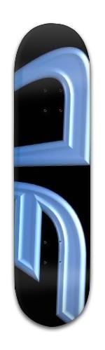 """""""AF Dimension"""" Banger Park Skateboard 8 x 31 3/4"""