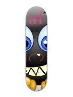 """""""Happy AF"""" Banger Park Skateboard 8 x 31 3/4"""