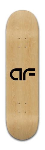 """""""Wood AF"""" Banger Park Skateboard 8 x 31 3/4"""