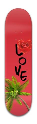 """""""Love"""" Banger Park Skateboard 8 x 31 3/4"""