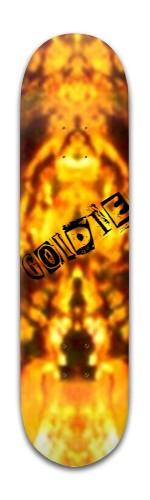 """Goldie"" Banger Park Skateboard 8 x 31 3/4"