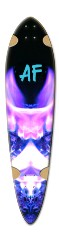 """Velvet Diamond af"" Dart Skateboard Deck v2"