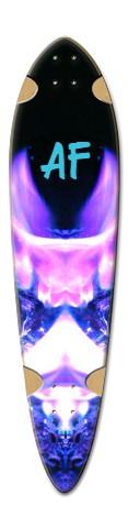 """Velvet Diamond af"" Dart Skateboard Deck v2"