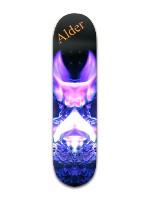 """""""Velvet Wings Alder"""" Banger Park Skateboard 8 x 31 3/4"""
