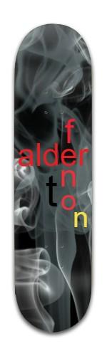 """Smokey Fenton"" Banger Park Skateboard 8 x 31 3/4"