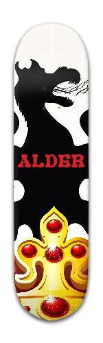 """""""Crown of Alder' Banger Park Skateboard 8 x 31 3/4"""