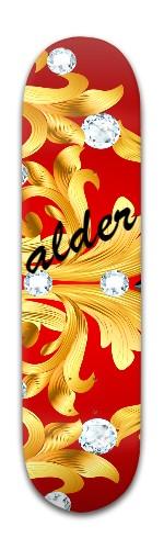 """""""alder's diamond"""" Banger Park Skateboard 8 x 31 3/4"""
