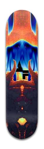 """""""AF Gold"""" Banger Park Skateboard 8 x 31 3/4"""