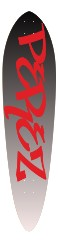 Perez Pintail Board Classic Pintail 10.25 x 42