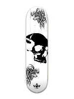 wolf bones Banger Park Skateboard 8 x 31 3/4