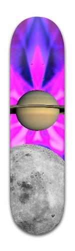 """the Saturn"" Banger Park Skateboard 8 x 31 3/4"