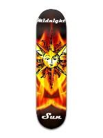 """midnight Sun"" Banger Park Skateboard 8 x 31 3/4"