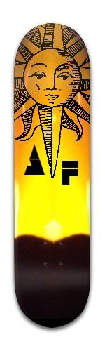 """""""AF Sun"""" Banger Park Skateboard 8 x 31 3/4"""