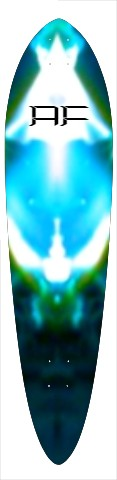 """af intersteller breath"" Classic Pintail 10.25 x 42"