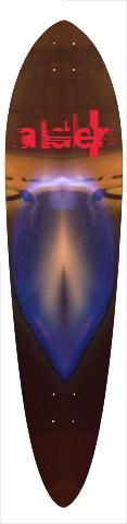 """kosmic Twat"" Classic Pintail 10.25 x 42"