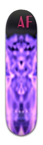 The Blur King Banger Park Skateboard 8 x 31 3/4