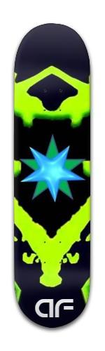 """""""af n'phinAtee"""" Banger Park Skateboard 8 x 31 3/4"""