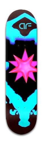 """""""af pink infinity"""" Banger Park Skateboard 8 x 31 3/4"""