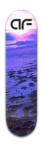 """""""af Moonscape"""" Banger Park Skateboard 8 x 31 3/4"""