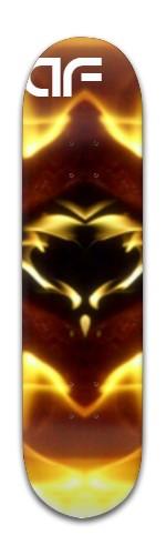 """""""af fire symbol"""" Banger Park Skateboard 8 x 31 3/4"""