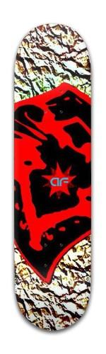 """""""af Red Nose"""" Banger Park Skateboard 8 x 31 3/4"""