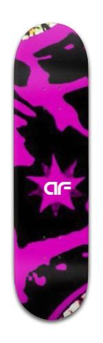 """""""af Purple Dragon"""" Banger Park Skateboard 8 x 31 3/4"""