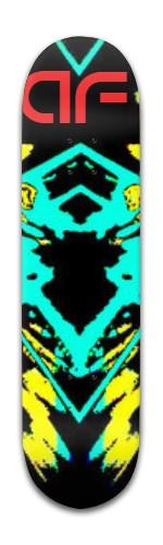 """""""af Gold Maker"""" Banger Park Skateboard 8 x 31 3/4"""