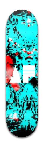 """""""af Messy"""" Banger Park Skateboard 8 x 31 3/4"""