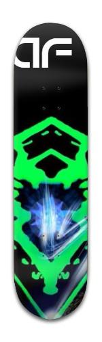 AF Greenergy Banger Park Skateboard 8 x 31 3/4