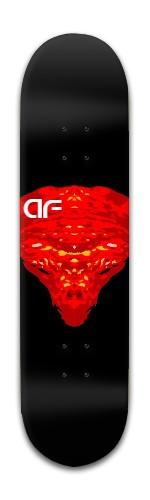 """""""af red Dragoon' Banger Park Skateboard 8 x 31 3/4"""
