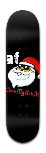 af Santa Banger Park Skateboard 8 x 31 3/4