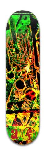 AF Temple Banger Park Skateboard 8 x 31 3/4
