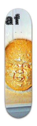 af baby head Banger Park Skateboard 8 x 31 3/4